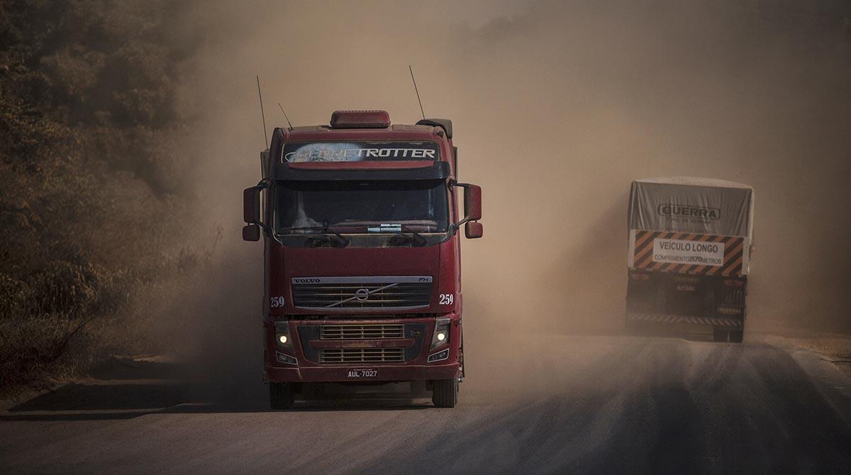 A truck in Brazil