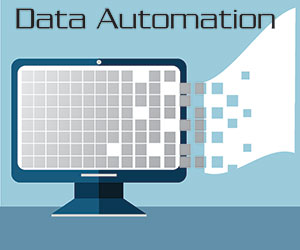 Data automation icon