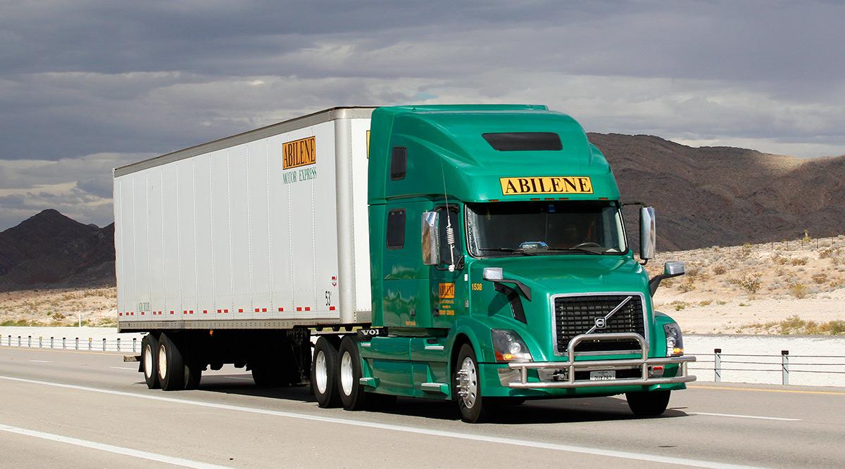 Abilene Motor Express truck