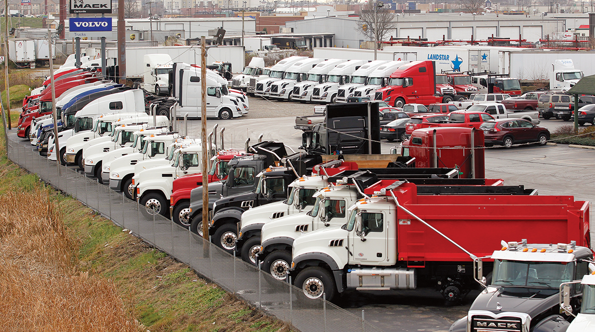 Used Truck Dealerships >> Used Truck Volumes Up 35 In May Pricing Stable As Dealerships Gain