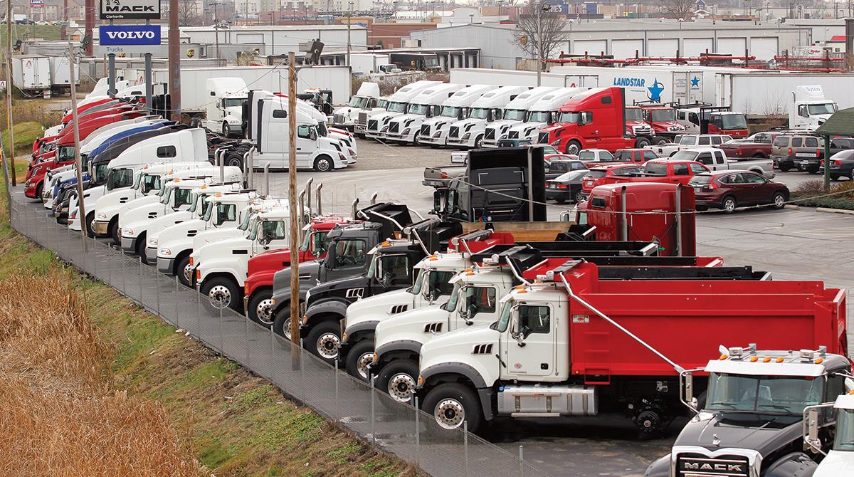 Used truck mileage