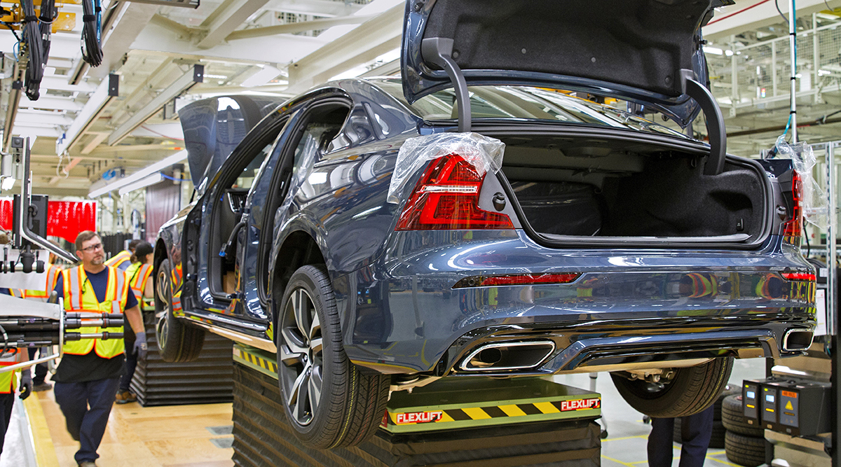 Volvo Sees New South Carolina Plant As Hedge Against Tariffs