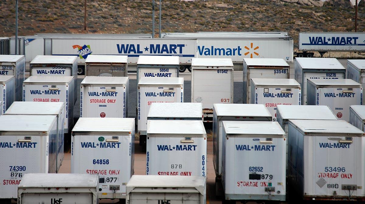 Wal-mart trailers