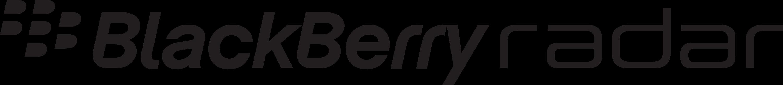 Blackberry Radar Logo