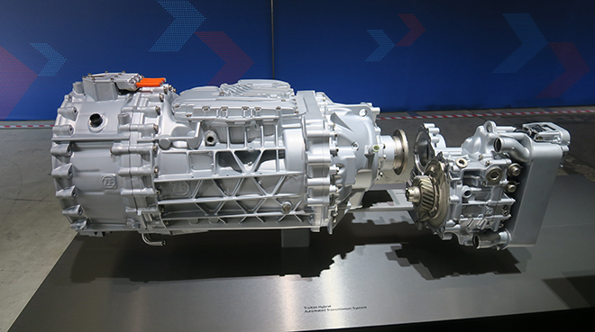 The Zf Traxon Hybrid Electric Transmission Which Is In Developmental Phase Must Be Paired With Other Components Such As Steering